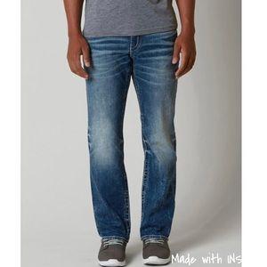 BKE Ryan denim straight leg jeans
